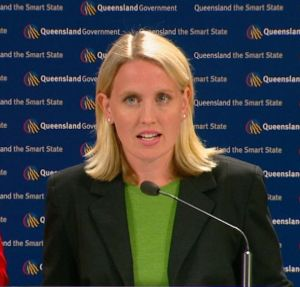 Queensland Labor Minister Kate Jones
